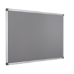 Bi-Office FA3842170 insert notice board Indoor Grey Aluminium