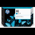 HP 90 Origineel Cyaan 1 stuk(s)