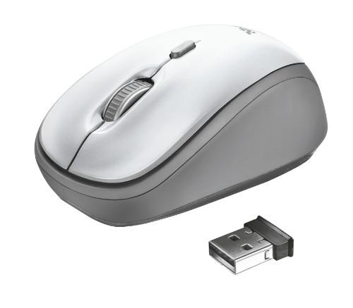 Trust Yvi mouse RF Wireless Optical 1600 DPI Ambidextrous