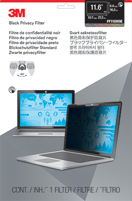 """3M 11.6"""" Touch Laptop Privacy Filter"""