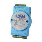 Advantech ADAM-6060-D digital/analogue I/O module Sink channel