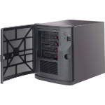 Supermicro SuperChassis 721TQ-250B2 Mini Tower Zwart 250 W
