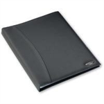 Rexel Soft Touch Smooth A4 Display Book 36 Pocket Black