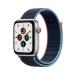 Apple Watch SE 44 mm OLED 4G Plata GPS (satélite)