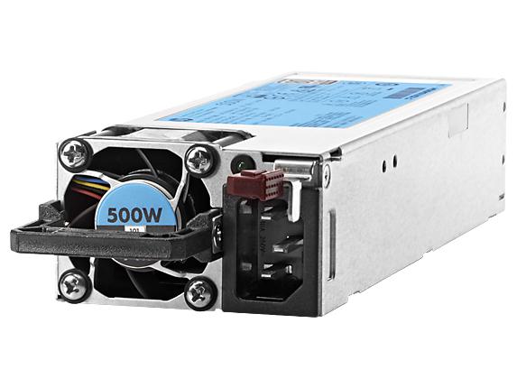 Hewlett Packard Enterprise 500W Flex Slot Platinum 500W Grey power supply unit