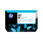 HP 80 zwarte DesignJet inktcartridge, 350 ml