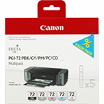 Canon 6403B007 (PGI-72) Ink cartridge multi pack, 5x14ml, Pack qty 5