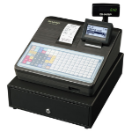 Sharp XE-A217B cash register 2000 PLUs LCD