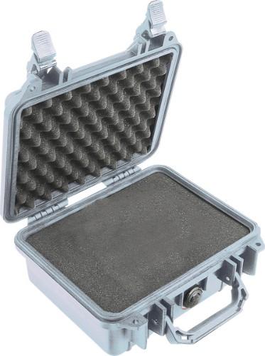 Peli 1200 Briefcase/classic case Silver