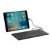 ZAGG ZLTKBW-BBU mobile device keyboard QWERTY English Black Lightning