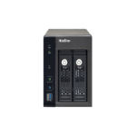 QNAP VS-2304 network video recorder Black
