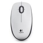 Logitech M100 USB Optical White mice