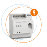 Devolo Magic 2 LAN DINrail 2400 Mbit/s Ethernet LAN Wit 1 stuk(s)