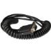 Honeywell CBL-020-300-C00 cable de serie Negro 3 m RS232 DB9