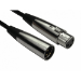 Cables Direct 2XLR-SV030 audio cable 3 m XLR (3-pin) Black,Silver