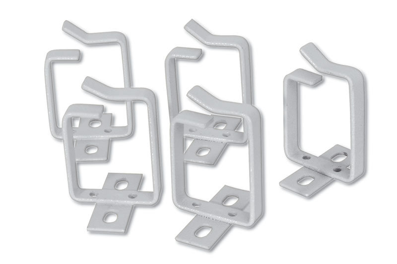 Digitus DN-19 ORG-2 cable clamp Gray 10 pc(s)