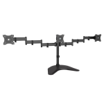"""Siig CE-MT1V12-S1 monitor mount / stand 27"""" Freestanding Black"""