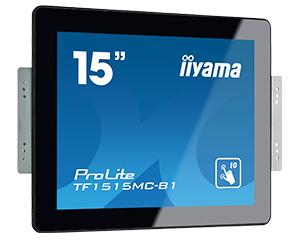 """iiyama ProLite TF1515MC-B1 15"""" 1024 x 768pixels Multi-touch Black touch screen monitor"""