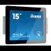 "iiyama ProLite TF1515MC-B1 touch screen monitor 38.1 cm (15"") 1024 x 768 pixels Black Multi-touch"