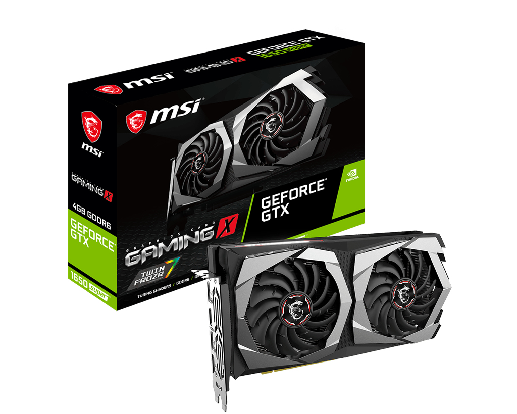 MSI GeForce GTX 1650 SUPER GAMING X NVIDIA 4 GB GDDR6