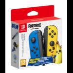 Nintendo Joy-Con Pair Fortnite Edition Blue, Yellow Bluetooth Gamepad Analogue / Digital Nintendo Switch