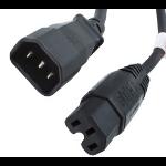 Origin Storage 2m C14M-C15F 2m C14 coupler C15 coupler power cable