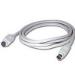 C2G 10ft 8-pin Mini-Din M/M Serial Cable 3.04m White KVM cable