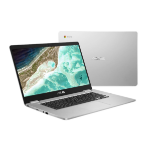 "ASUS Chromebook C523NA-A20105 notebook Silver 39.6 cm (15.6"") 1920 x 1080 pixels Touchscreen Intel® Celeron® N3350 8 GB LPDDR4-SDRAM 32 GB eMMC"