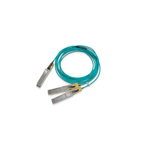 Mellanox Technologies MFS1S50-H020E fibre optic cable 20 m LSZH 2x QSFP56 Blue