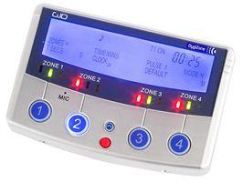 Digital 4 Zone Security Lighting Controller & Enunciator Silver