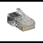 Black Box FMTP1045-10PAK wire connector RJ-45 Transparent