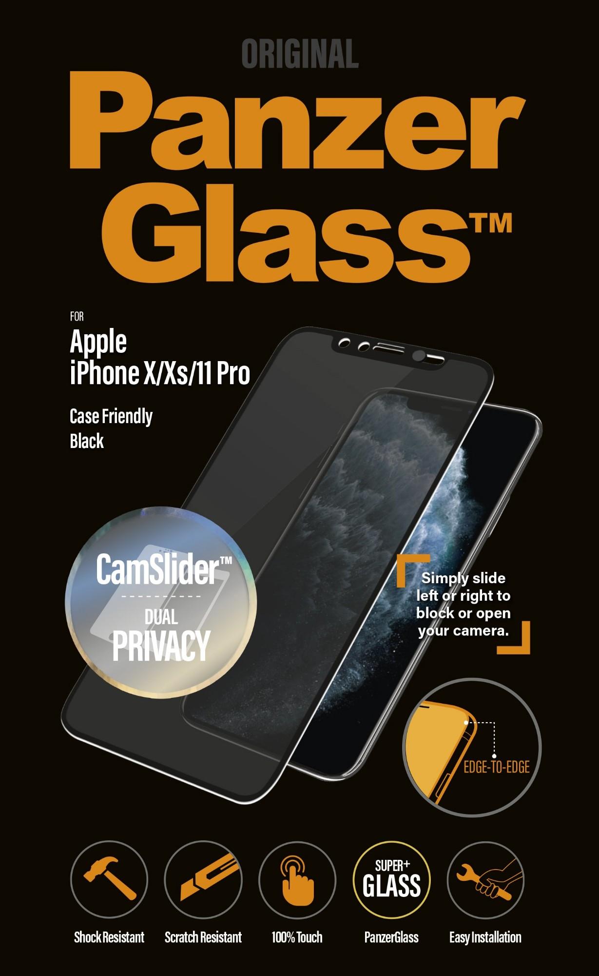PanzerGlass P2667 protector de pantalla Protector de pantalla anti-reflejante Teléfono móvil/smartphone Apple 1 pieza(s)