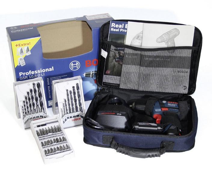 Bosch GSR 10.8-2-LI Black,Blue 950 g