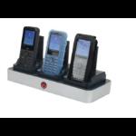 zCover CI821U3A-NA mobile device dock station IP Phone Black, Silver