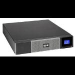 Eaton 5PX2200IRT + 3Y Exclusive TD Part 2200VA 9AC outlet(s) Rackmount Black uninterruptible power supply (UPS)