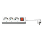 Microconnect GRU0033WS surge protector 3 AC outlet(s) 3 m White