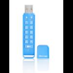 iStorage datAshur Personal 256-bit 32GB USB flash drive