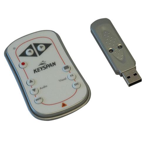 Tripp Lite PR-EZ1 wireless presenter Silver,White