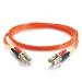 C2G 1m LC/LC LSZH Duplex 50/125 Multimode Fibre Patch Cable