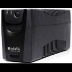 Riello Net Power 800 sistema de alimentación ininterrumpida (UPS) 800 VA 4 salidas AC