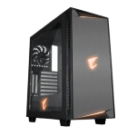 Gigabyte AC300W computer case Midi-Tower Black