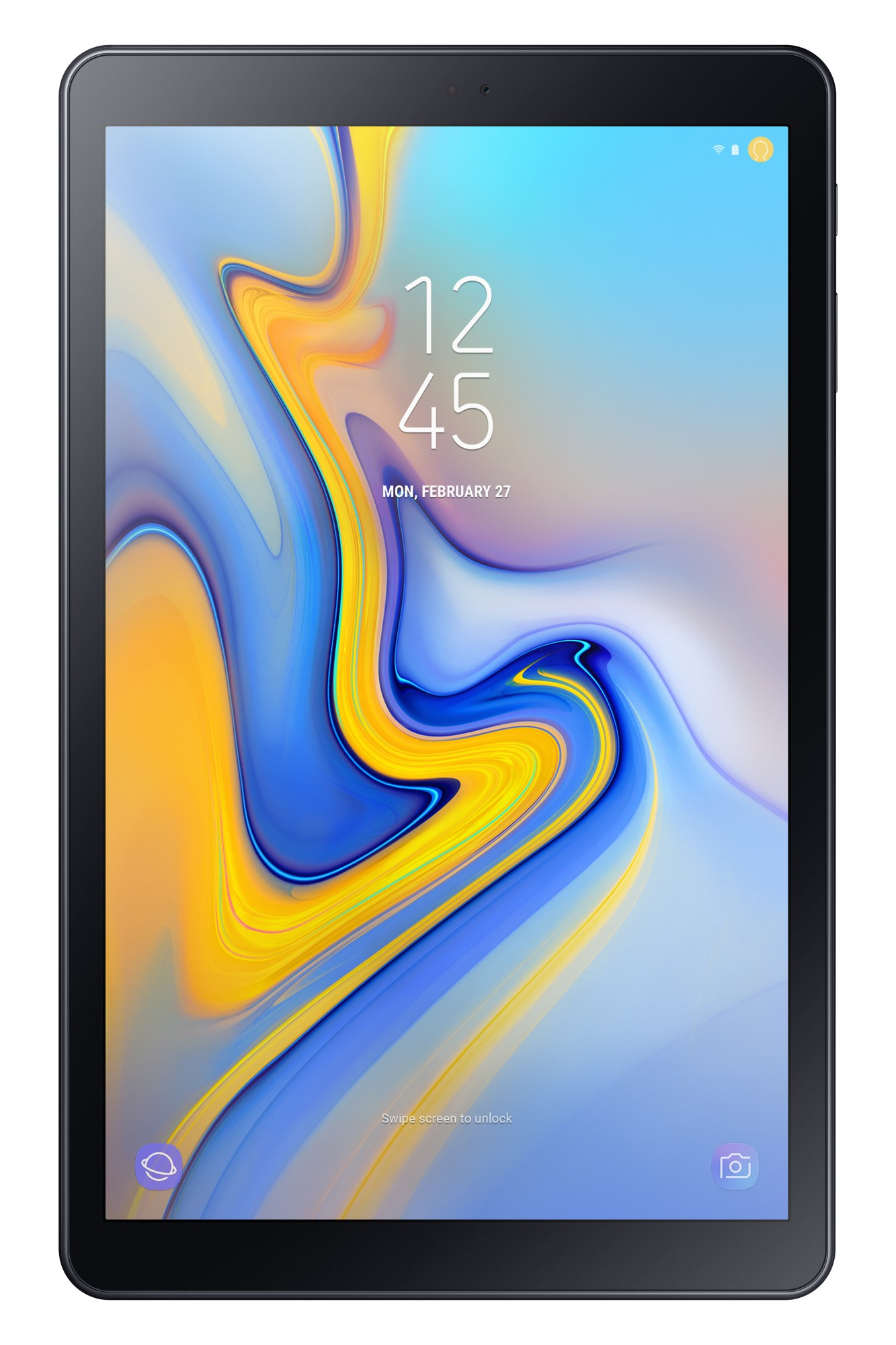 Samsung Galaxy Tab A (2018) SM-T595N tablet Qualcomm Snapdragon 450 32 GB 3G 4G Zwart