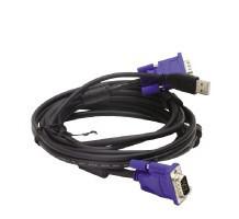 D-Link DKVM-CU 1.8m Black KVM cable