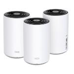 TP-LINK DECO X68 Tri-band (2.4 GHz / 5 GHz / 5 GHz) Wi-Fi 6 (802.11ax) White 2 Internal