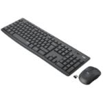 Logitech MK295 Silent Wireless Combo Tastatur RF Wireless Belgisch, Holländisch Schwarz