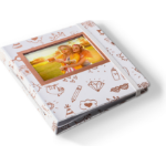 HP Sprocket Gold, White photo album