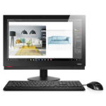 "Lenovo ThinkCentre M910Z 3.6GHz i7-7700 23.8"" 1920 x 1080pixels Black All-in-One PC"
