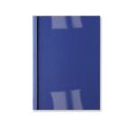 GBC LeatherGrain Thermal Binding Covers 6mm Royal Blue (100)