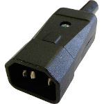 Cablenet C14 10 Amp Power Connector (Screw)