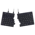 R-Go Tools R-Go Split Break Ergonomic Keyboard, QWERTZ (DE), black, wired